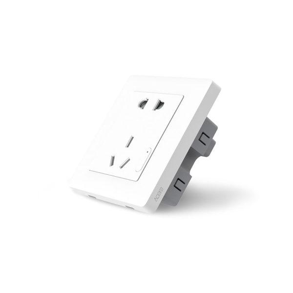Умная розетка Xiaomi Aqara Smart Wall Socket