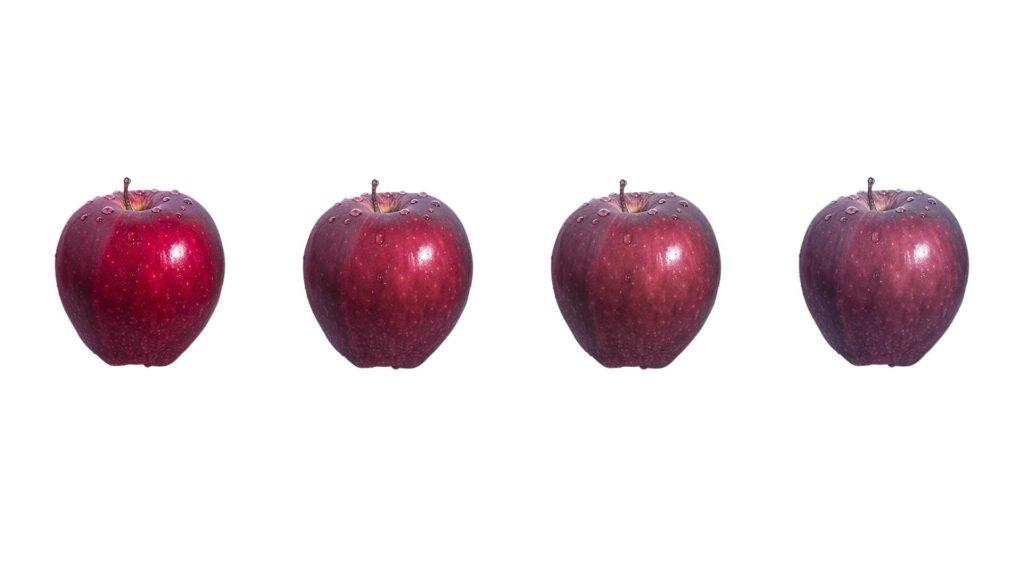 Восприятие предмета в зависимости от индекса цветопередачи