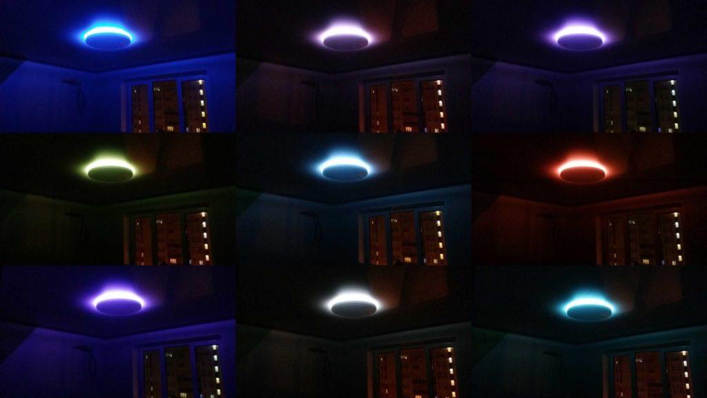Фоновая RGB подсветка YLXD02YL