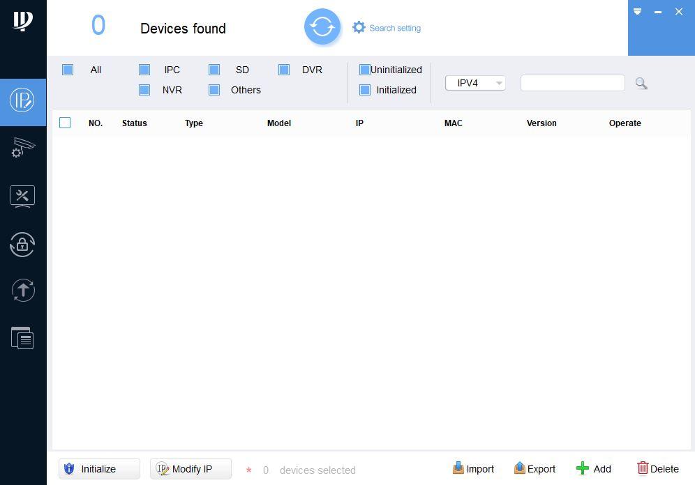 Как узнать ip адрес камеры dahua и RVi