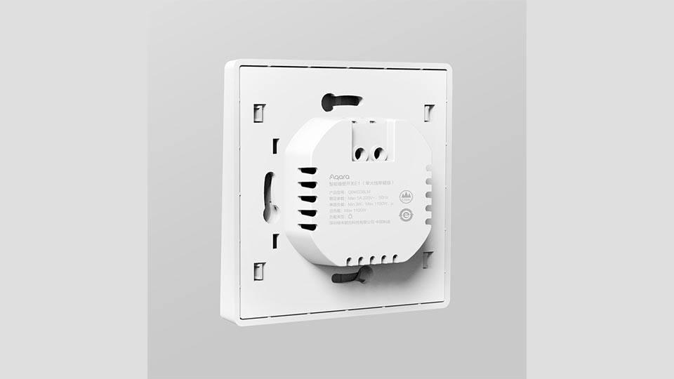 Read more about the article Выключатели под круглый подрозетник Aqara E1 Smart Switch